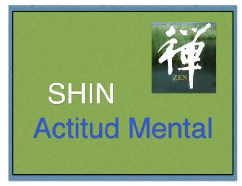 Shin… es el Poder; es la Actitud; es la fuerza Mental de Hacerlo,
